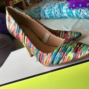 Shoes - Prabal Gurung for Target Nolita Print Pumps